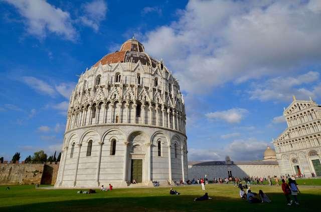 Italy, Pisa, Baptysterium San Giovanni