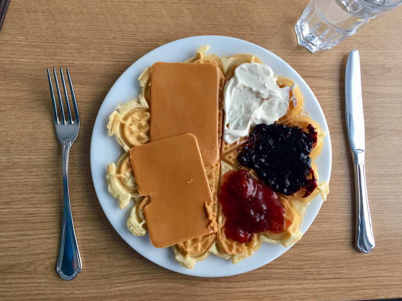 Norway, Fjellheisen - Waffles