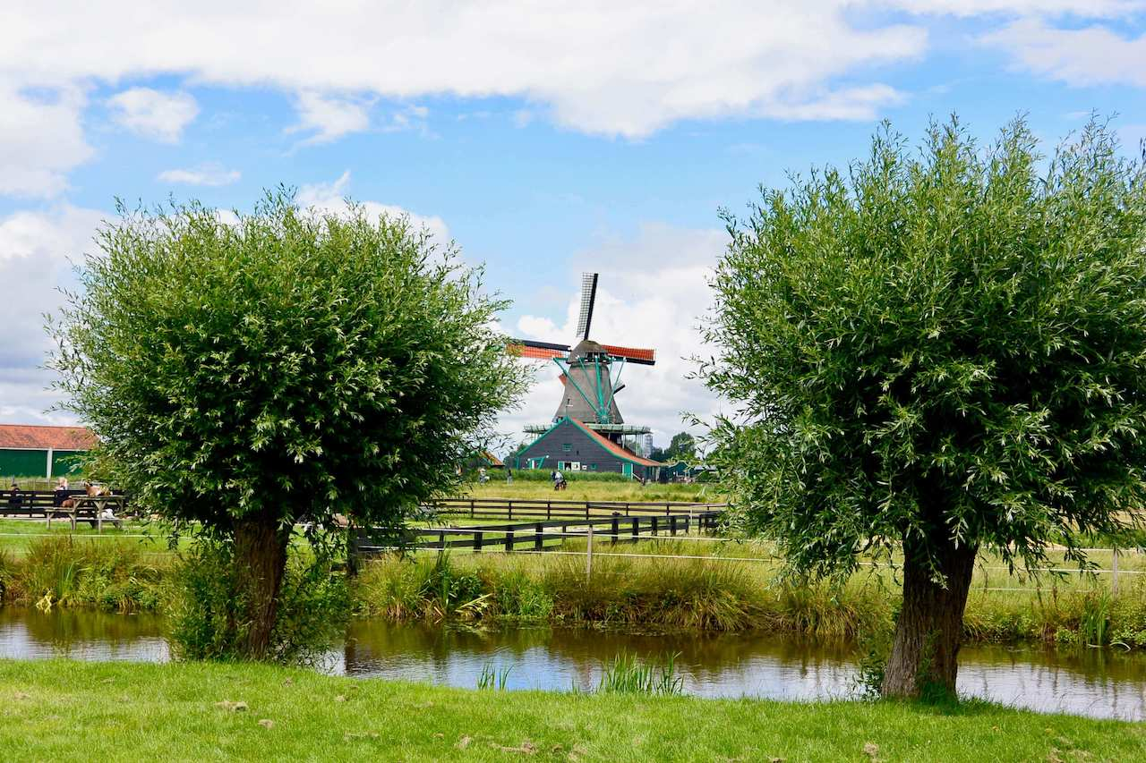 The Netherlands, Zaanse Schans - windmills