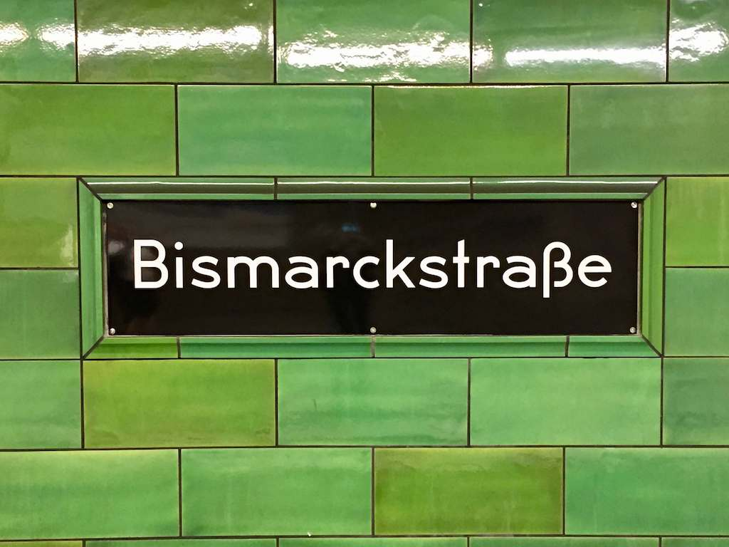Germany, Berlin - The U-Bahn Station