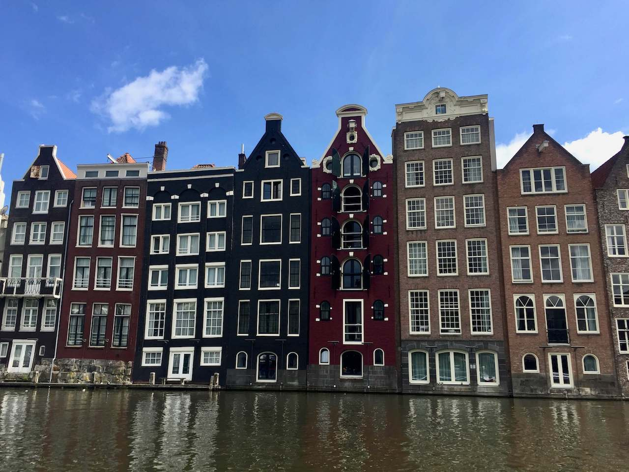 The Netherlands, Amsterdam - Dutch houses