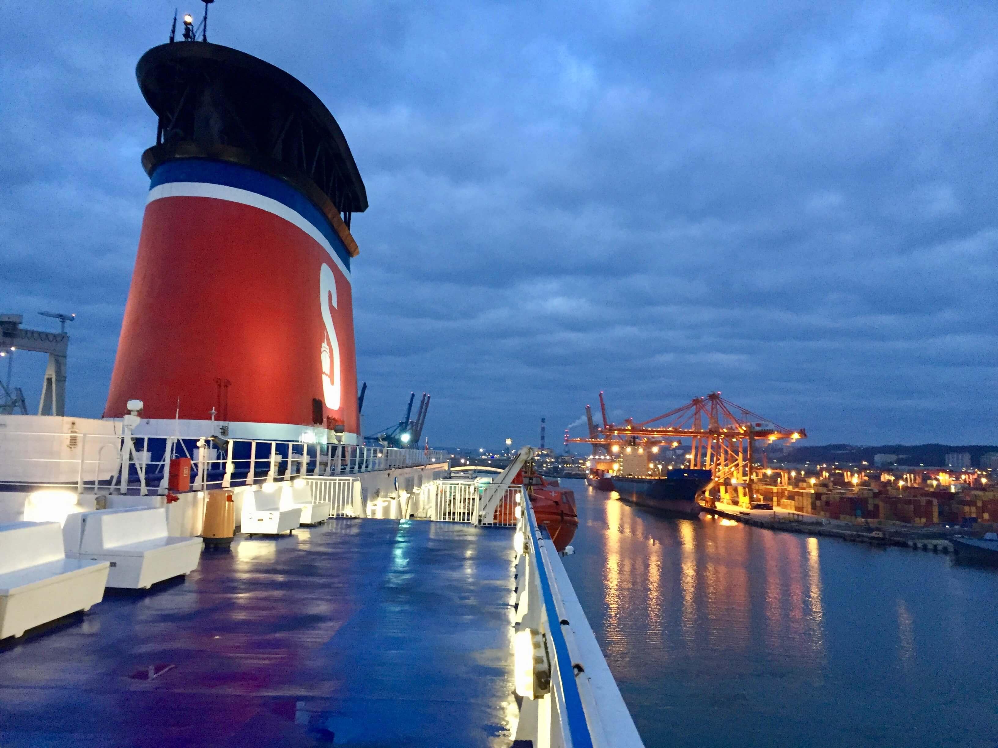 Sweden, Karlskrona - Stena Line ferry