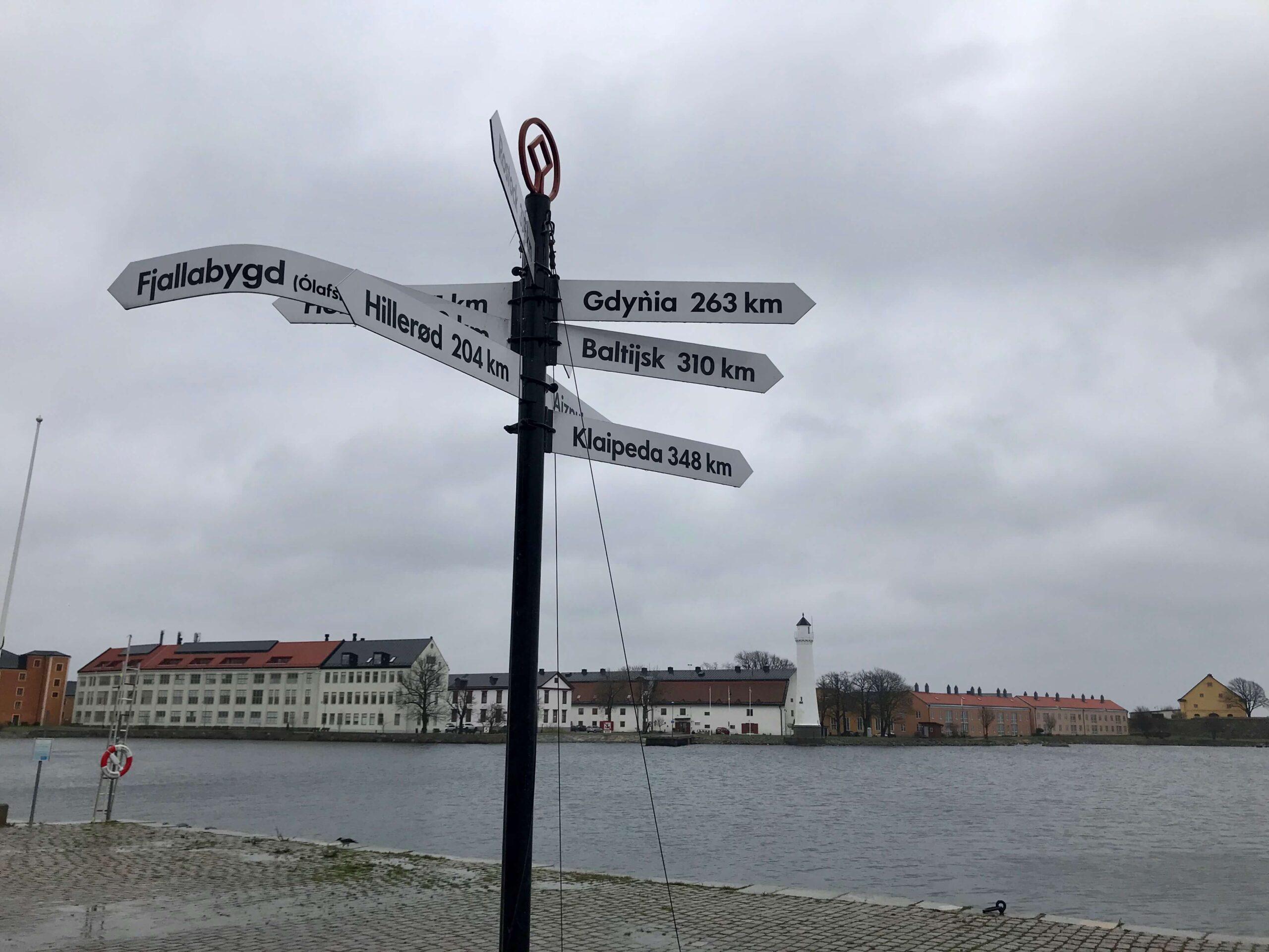 Sweden, Karlskrona - Lighthouse