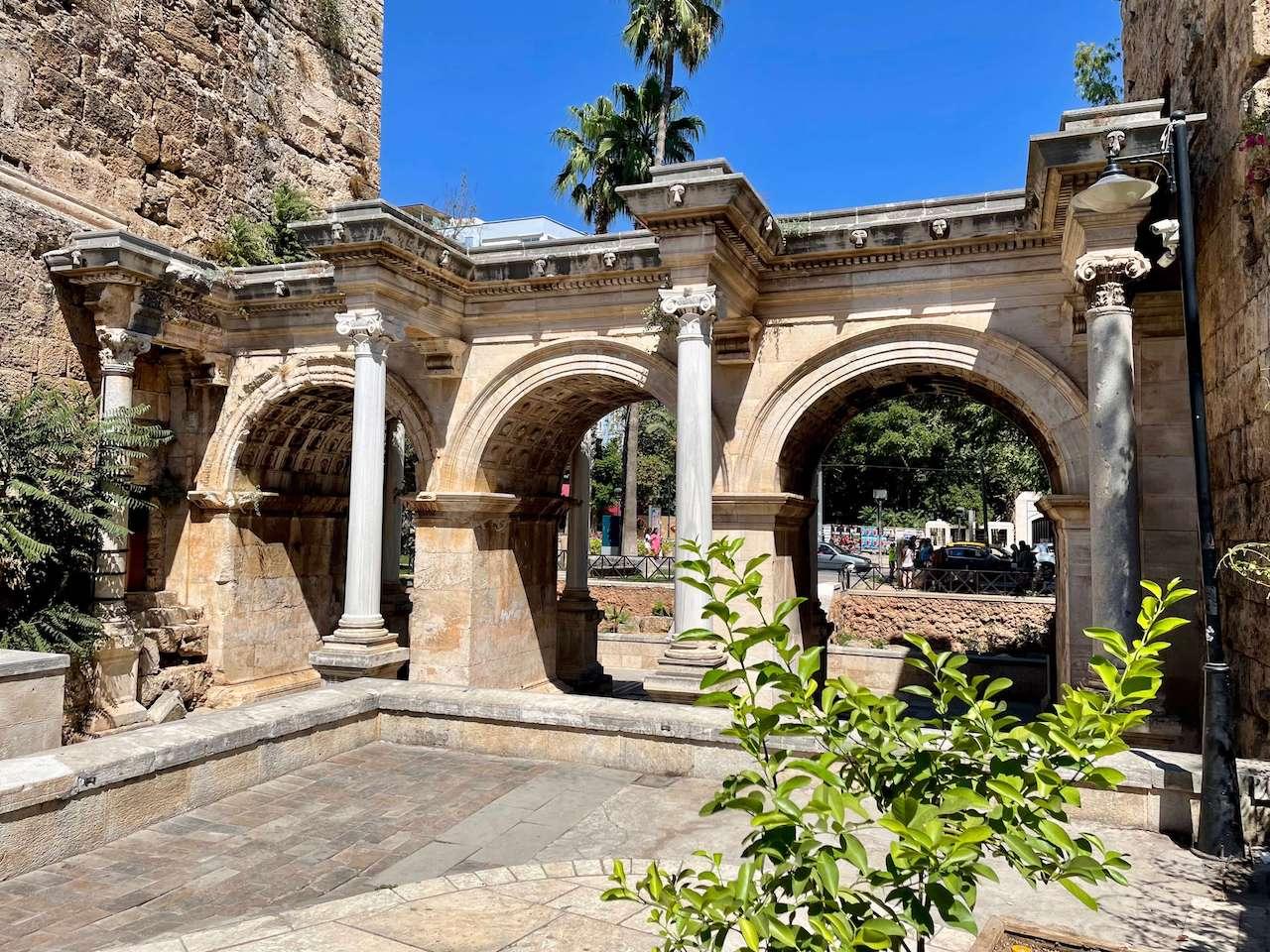 Turkey, Antalya - Hadrian's Gate