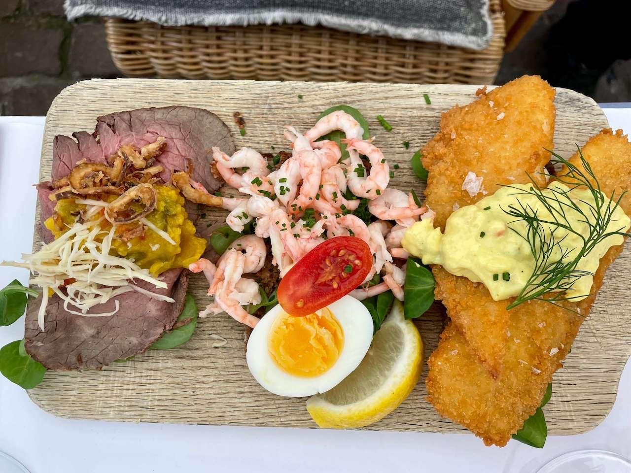 Denmark, Copenhagen - Lunch