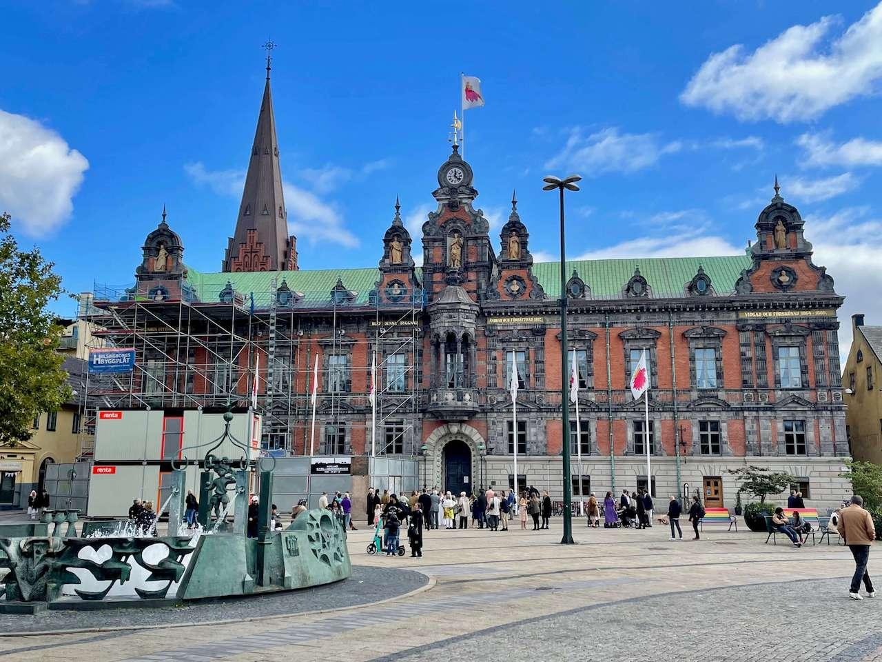 Sweden, Malmö - Historical district of Gamla Staden