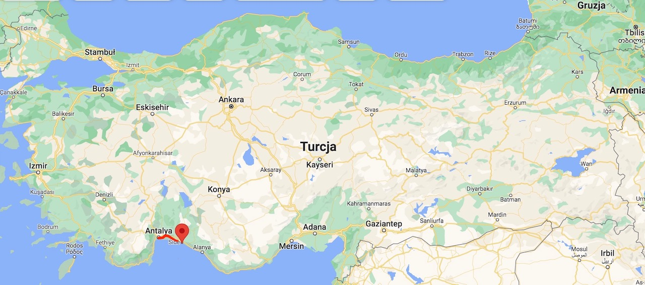 Turkey - map